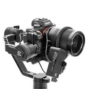 Image 3 - ZHIYUN Crane 2  הרשמי מנוף 2 3 ציר Gimbal מייצב עבור כל דגמים של DSLR ראי מצלמה Canon 5D2/3/4 עם סרוו בצע פוקוס