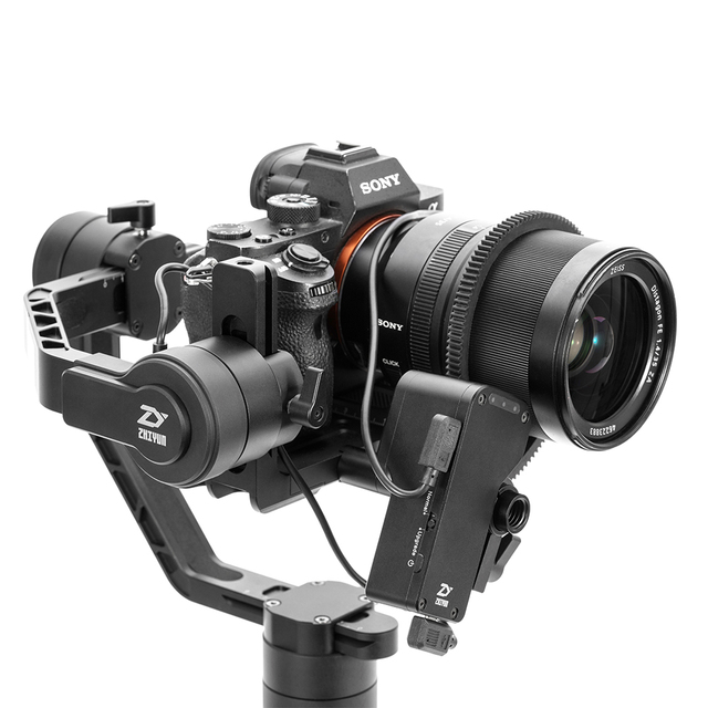 ZHIYUN Official Crane 2 3-Axis Camera Stabilizer for All Models of DSLR, Mirrorless Camera, Canon 5D2/3/4 with Servo Follow Focus