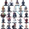 24 unids Star Wars C3PO Leia Guerrero Sith Lord Sith Obi-Wan Luke Skywalker Figuras de Bloques de Construcción Ladrillos Juguetes Legoes Compatible