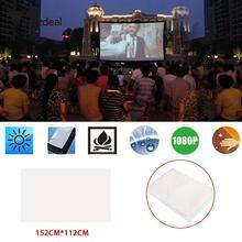 Мягкий проекционный экран киноэкран проекционный занавес проектор занавес домашний кинотеатр тени куклы театр полиэстер Тафта