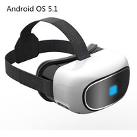 G200 VR Headset Box Virtual Reality 3D Video Glass Android 5 1 Quad Core 1 8G