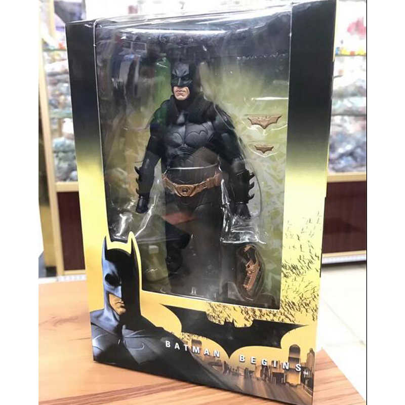 """NECA Batman Begint Bruce Wayne Joint Beweegbare PVC Action Figure Collectible Model Toy 7 """"18 cm"""