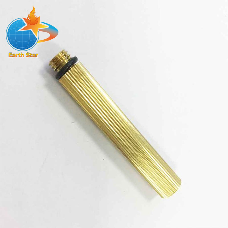 Gas Water Heater valve assembly Parts Sewage tube Made in brass with thread Used on Gas water heater Valve length50mm, M8 Thread 750 degree millivolt replacement thermopile generators used on gas fireplace water heater gas fryer cluster thermocouple