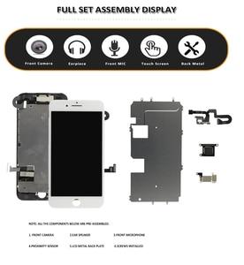 Image 2 - סט מלא LCD עבור iPhone 7G 7 בתוספת LCD מלא הרכבה תצוגת מסך מגע Digitizer החלפת אין בית כפתור מול מצלמה