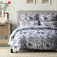Pa.an Sanding Print 3pcs Comforter Bedding Sets Incl. Duvet Cover and Pillowcase King Queen Twin Size Ins Style Bedroom Decor