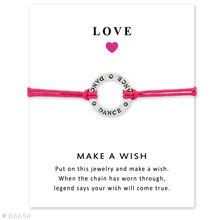 12PCS Silver Hollow Round Lettering Dance Adjustable Bracelets & Bangles for Women Girls Wax Rope Bracelet Jewelry