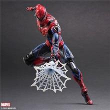 Arts jogar 28 cm Marvel Spiderman Super Hero Spider Man: Figura de Ação Brinquedos do Regresso A Casa