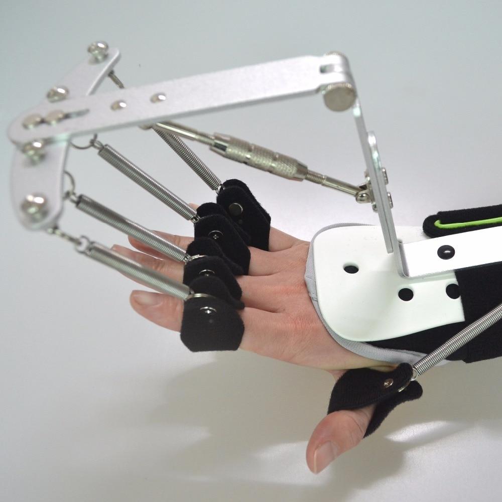 updated version adjustable finger wrist orthotics exerciser stroke hemiplegia rehabilitation cerebral infarction recovery
