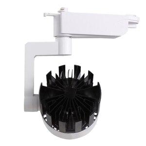 Image 4 - 4pcs/lot 20W 30W COB LED Track Light aluminum Ceiling Rail Spot lights For Clothes Shop Shoes Store Track Rail Lighting