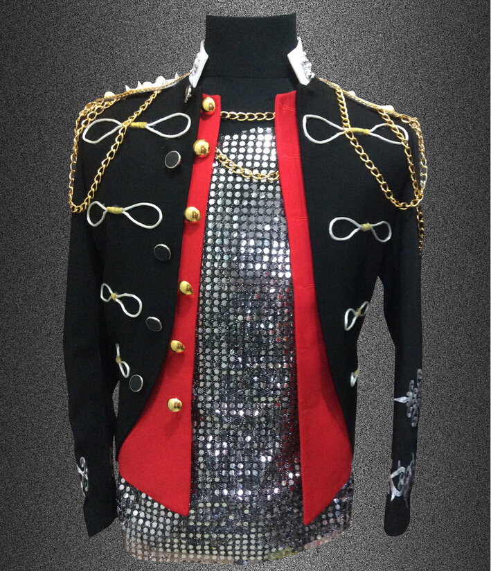 Plus չափսեր S-4XL սև կարմիր տղամարդիկ - Տղամարդկանց հագուստ