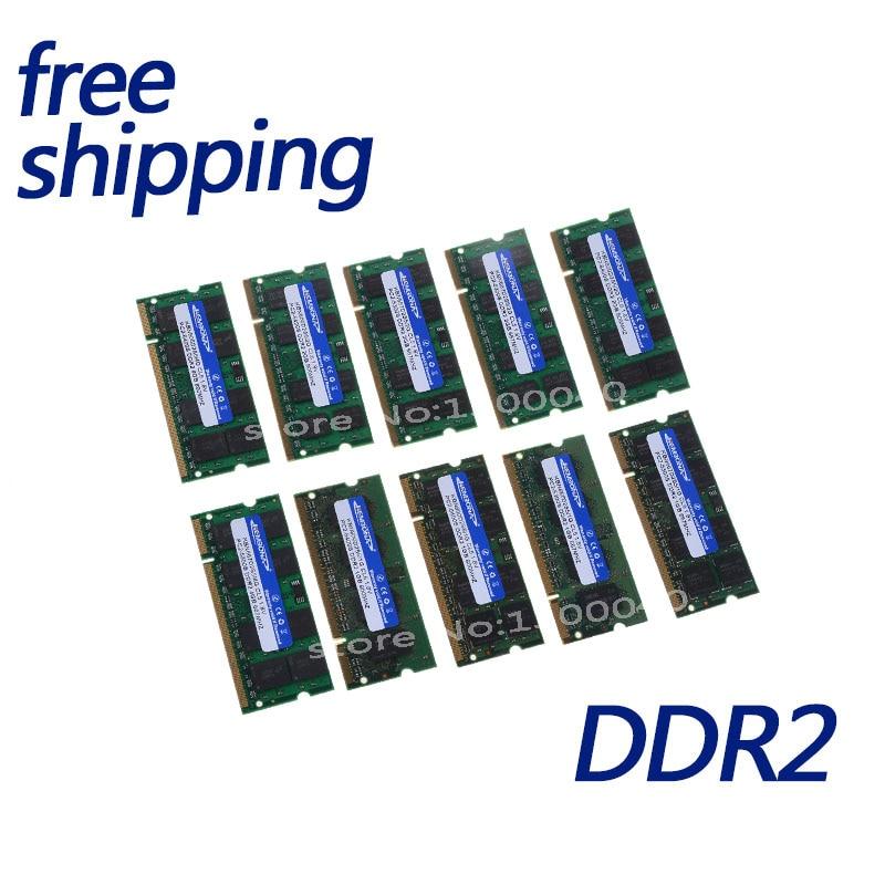 KEMBONA 2 GB PC2-5300S DDR2-667 667 Mhz 200pin DDR2 Laptop-speicher 2G pc2 5300 667 Notebook Modul SODIMM RAM freies Verschiffen