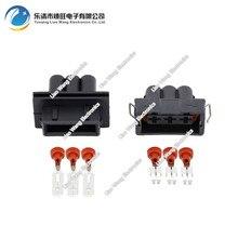 5sets 3 pin auto electric cable  connectors DJ70323-6.3-11/21 3P
