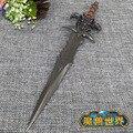 Wo Sheepshead modelo espada Lich king Frostmourne modelo sabre figura ainda pendente com Backplane 22 cm