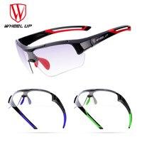 WHEEL UP Cycling Glasses Discoloration Glasses MTB Road Bike Sport Sunglasses Bike Eyewear Anti UV Bicycle Goggles Photochromic