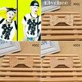 Acessórios de moda de madeira Kpop laços gravata Bowtie arco cuidado magnética