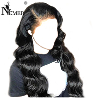 Lace Wigs 150% Density Body Wave 13x6 Lace Front Human Hair Wigs Brazilian Remy Pre Plucked Natural Hairline With Baby Hair Wigs