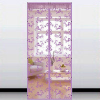 Summer Mesh Prevent Mosquito Kitchen Window Curtains Door Curtain Lovely Tree Planting Pattern Home Curtalns For