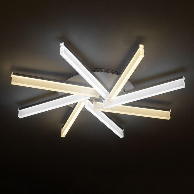 Moderne lampade a LED forma di sole plafoniere soggiorno moderna ...