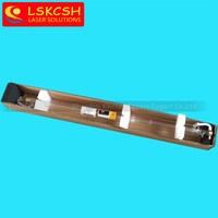 50W laser tube 1000mm length 2pcs in one wooden case for Co2 laser cutting/engraving machines hot selling promotion