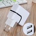 NEW 2 Portas USB Carregador de Parede de Viagem DA UE Plugue Carregador de Telefone USB 2.1a 5 v adaptador de telefone móvel para xiaomi redmi 3 s iphone 7 huawei