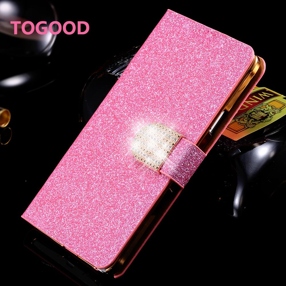 Shiny Texture PU Leather Flip Case For Fly IQ4415 Quad Era Style 3 Wallet Case Phone Pouch Cover Holster For Fly IQ 4415 Case