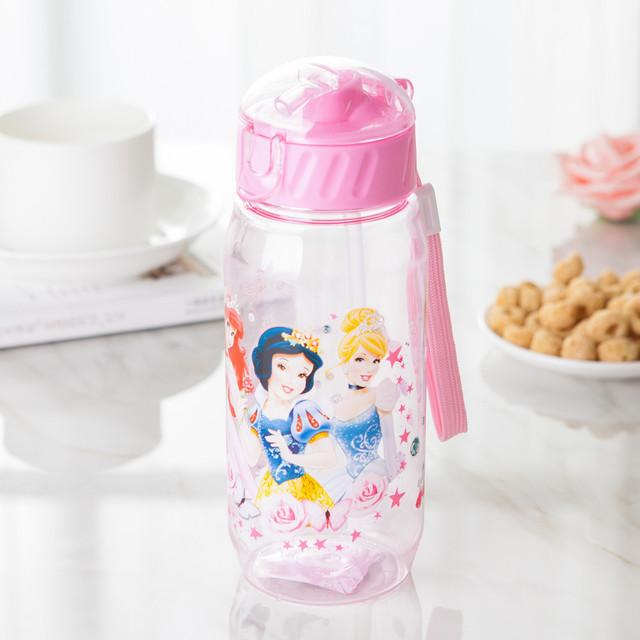 400ml cute ups Eco-friendly Kid baby water baby cartoon water bottle sport bottle for water children Straw kettle sports bottle
