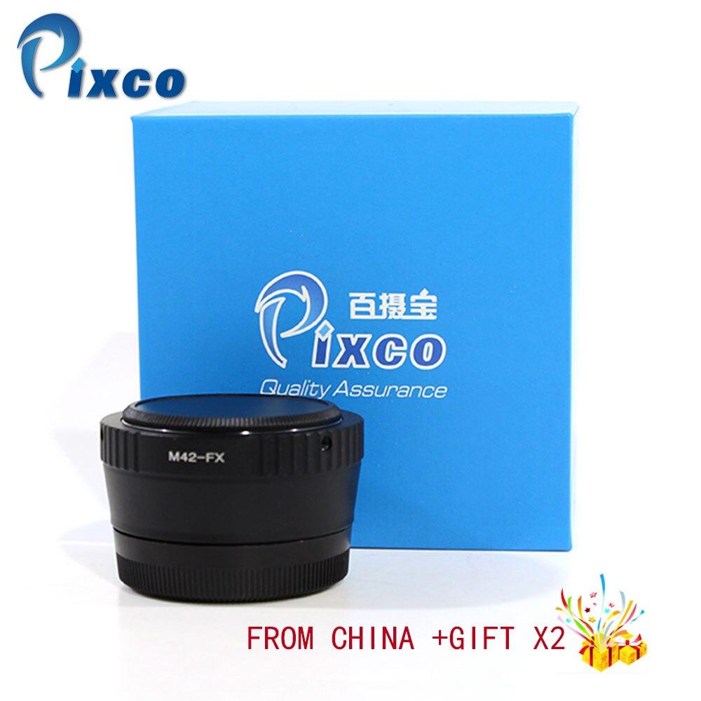 Pixco Скорость Booster фокусный преобразователь lкомплект адаптеров для объектива для M42 F объектива к костюму для Fujifilm X Камера для дропшиппинг