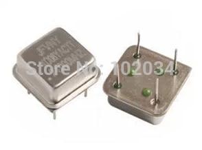 Lot of 10 1MHz Half-Can Crystal Oscillators