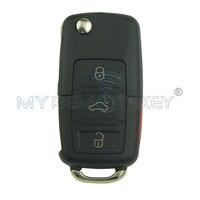 Remote Key HU66 315Mhz 2button For VW 50W 1JO 959 753 T