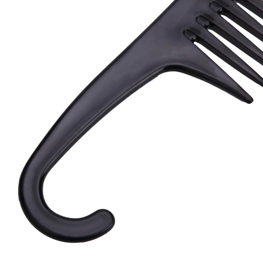 High Quality Anti-static Hair Combs Professional Black Hairdressing Brush Salon Barbers Tools Hair Comb For Men Women#212 5