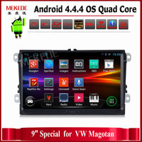 9 HD 1024 600 Android Quad Core 2 DIN Car Dvd Gps Radio For Volkswagen VW