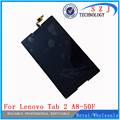 New 8'' inch For Lenovo Tab 2 A8-50F Tab2 A8-50LC A8-50 Tablet PC Touch Screen + LCD Display Assembly Parts Free shipping
