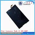 Nuevo 8 ''pulgadas para lenovo tab 2 a8-50f tab2 a8-50lc a8-50 PC de la tableta de la Pantalla Táctil + Ensamblaje de la Pantalla LCD de Piezas Envío libre