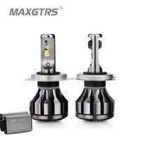 MAXGTRS Car LED Headlight H7 H4 LED H8 H11 HB3 9005 HB4 9006 9012 CSP Chip