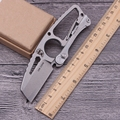 Herramientas multiusos cuchillo plegable cuchillo de la supervivencia que acampa cuchillo táctico Al Aire Libre cuchillos de hoja fija S35VN mejor regalo envío gratis