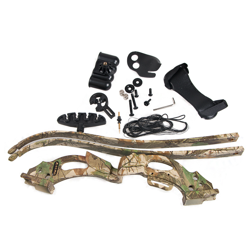ФОТО 20LBS Archery Bows and Arrows Camouflage Target Shooting Hunting Practice Bow Accessories Set with Arm Guards