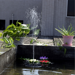 Lumiparty hot sale 7v floating water pump solar panel garden plants water power fountain pool .jpg 250x250