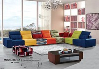 2017 Modern Set Fabric Sectional Sofa Hot Sale Cheap Price Home Sofa