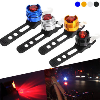 Bike Cycling Front Rear Tail Light Mountain MTB Taillight Safety Warning Lamp Bycicle Accessories YS-BUY image
