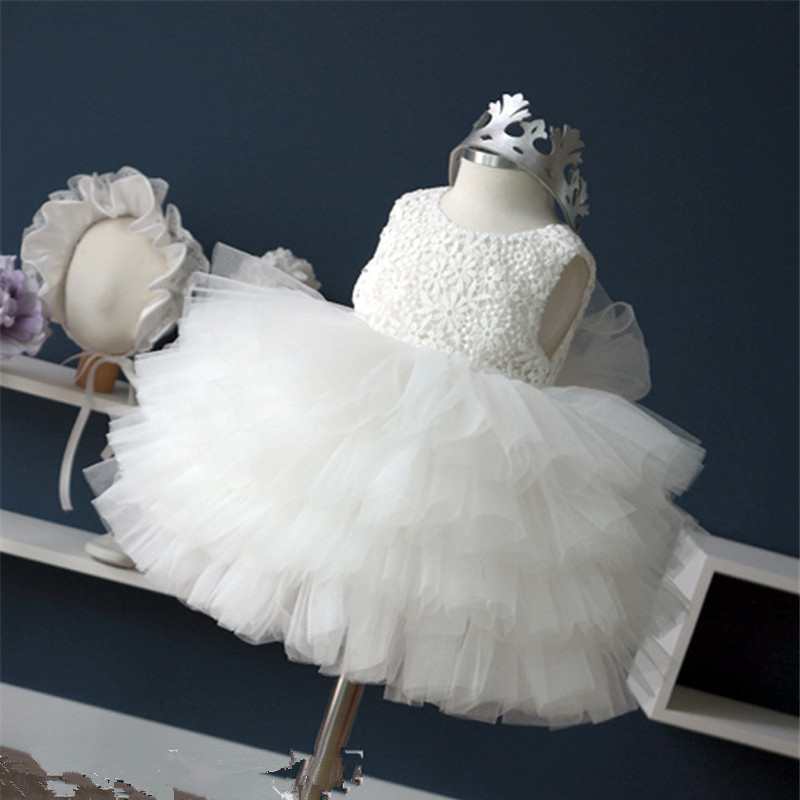 2017 Special Offer Hot Sale Tulle Baby Girl Christening Gowns Girls Wedding Dress Party Princess Tutu Infant Baptism Ball Gown offer wings xx2449 special jc australian airline vh tja 1 200 b737 300 commercial jetliners plane model hobby