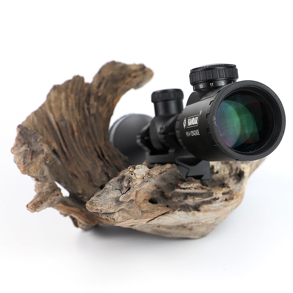 KANDAR Ov Riflescope KH 4-12x42 AOE Qırmızı İşıqlandırılmış - Ovçuluq - Fotoqrafiya 4