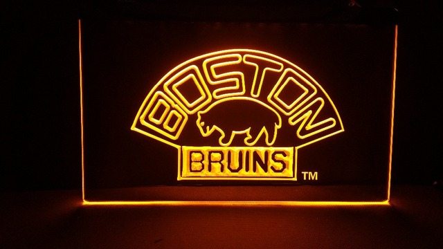 BOSTON bruins beer bar pub NEW carving signs Bar LED Neon Sign ...