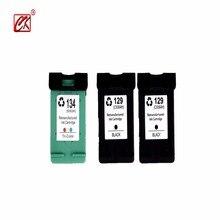 3 p compatible cartucho de tinta hp 129 hp129 hp 134 párr párr hp134 párr impressora jato de tinta hp 8050 c4140 c4150 c4150 c418
