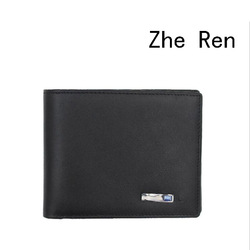 smart wallet Men's top head layer cowhide wallet smart bluetooth anti-theft fashion leather wallet