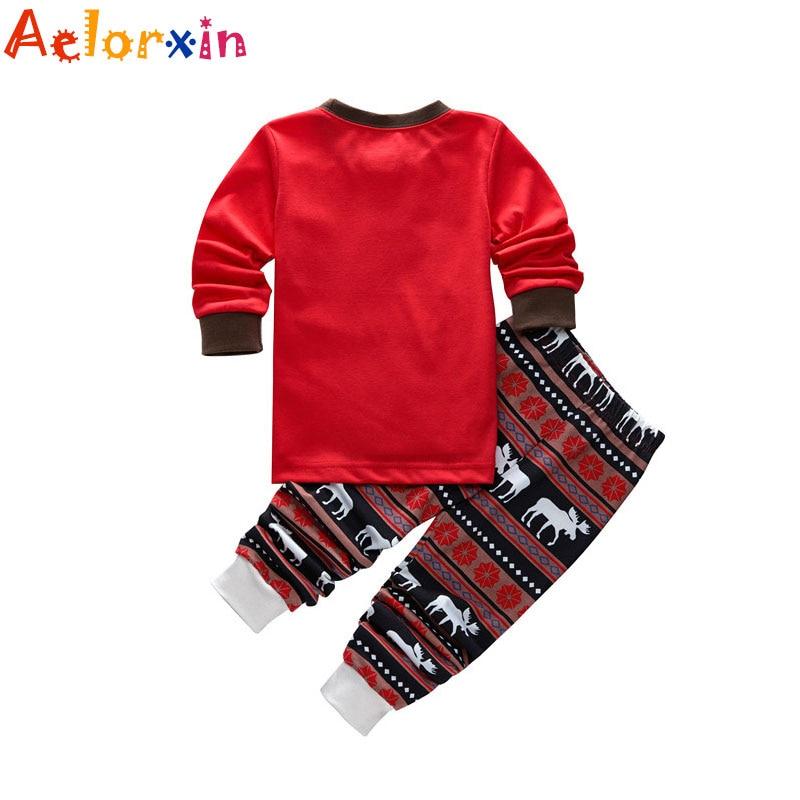 Різдвяні піжами для сімейного одягу - Дитячий одяг - фото 4