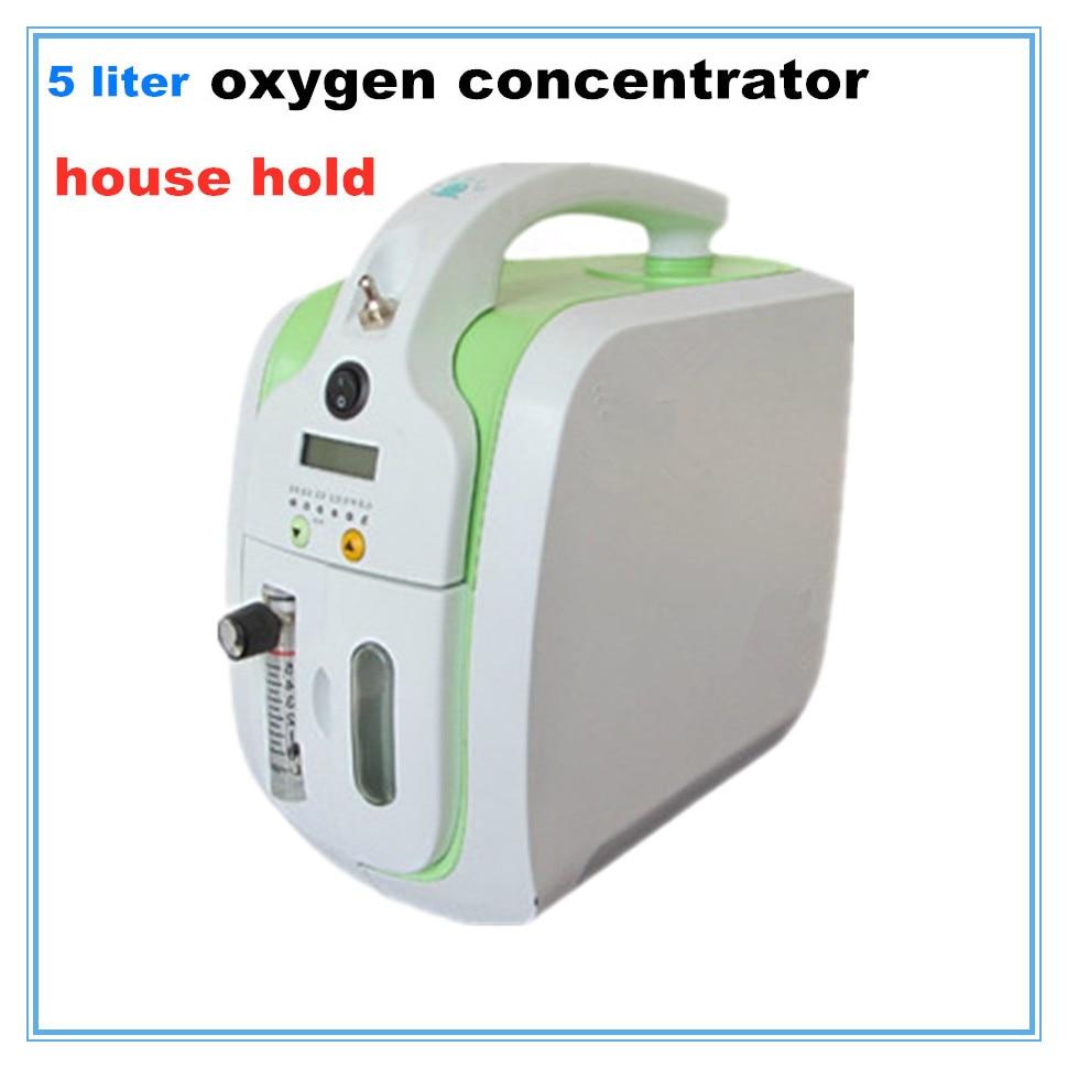 COXTOD portatile mini concentratore di ossigeno generatore di 6L di ossigeno che fa la macchina Ossigenazione macchina di ossigeno macchina di generazione 1 pz