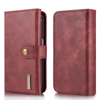 Luxury Stand Flip Wallet Pu Leather Cover For Samsung Galaxy S7 Edge Cases 2 In 1