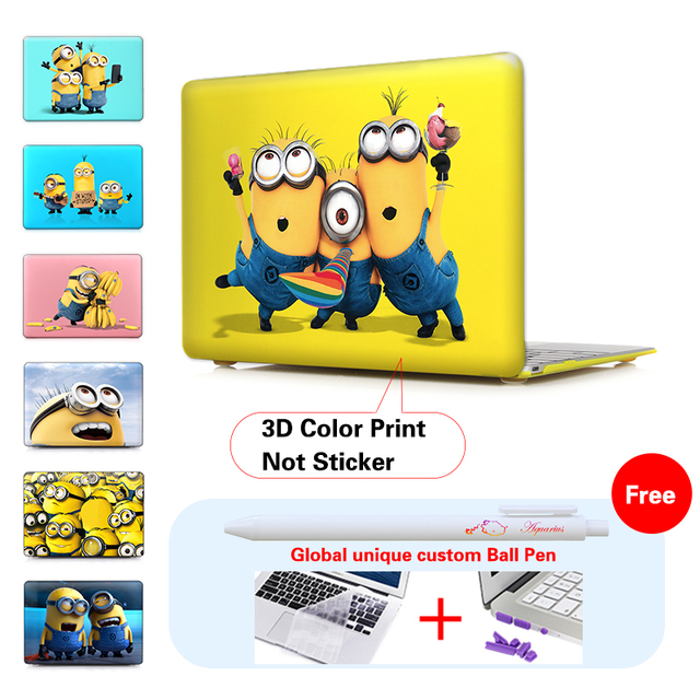 Print Minion Despicable Case For Laptop Cover Apple Macbook Pro 13 154 Retina Mac Book