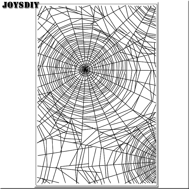 SPIDER TEXTURE BACKGROUND  Scrapbook DIY photo cards account rubber stamp clear stamp transparent stamp Handmade card stamp scrapbook diy photo cards account rubber stamp clear stamp finished transparent chapter wall decoration 15 18