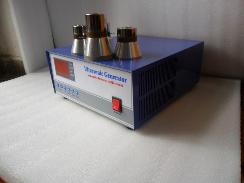 28khz/120khz 600W dual frequency ultrasonic generator,28khz/120khz Ultrasonic Signal Generator